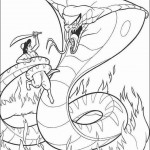 Aladdin coloringpages -
