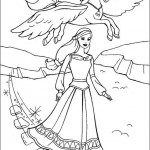 Barbie coloringpages -