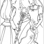 Barbie coloringpages -