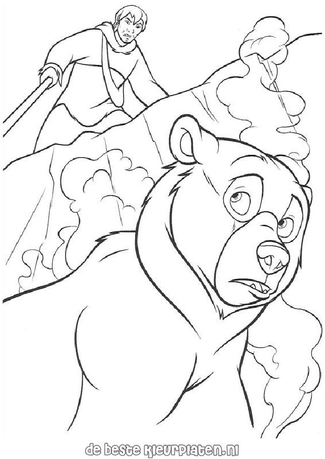 brother bear 2 coloring pages - photo#44