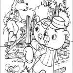 3 Little Pigs coloringpages -