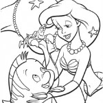 Little Mermaid coloringpages -
