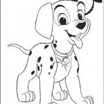 101 Dalmatians coloringpages -