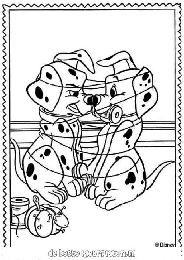 101dalmatians023 printable coloring pages for 101 dalmation coloring pages