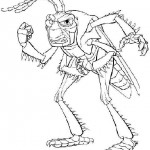 A Bug's Life coloringpages -