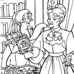 Anastasia coloringpages -