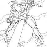 Aquaman coloringpages -
