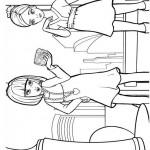 Barbie Thumbelina coloringpages -