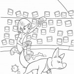 Bolt coloring pages 43