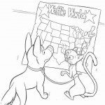 Bolt coloring pages 41