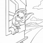 Bolt coloring pages 35