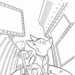 Bolt coloringpages -