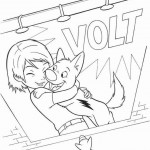 Bolt coloring pages 5