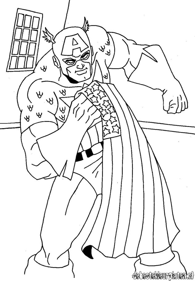 CaptainAmerica11 Printable coloring pages