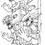 Chicken Run coloringpages -
