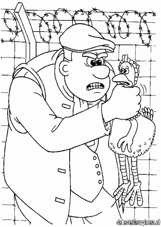 Chicken Run 15 Printable Coloring Pages