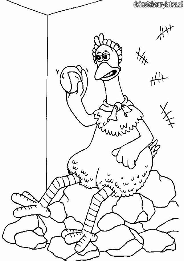 chicken run free coloring pages - photo#20