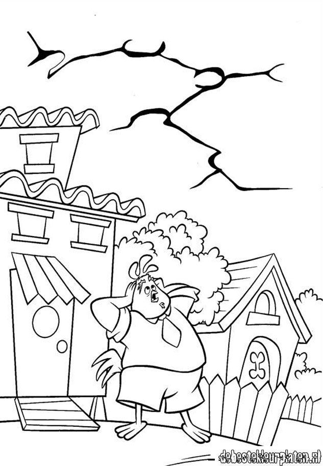 Chickenlittle13 Printable Coloring Pages