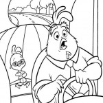 Chicken Little coloringpages -