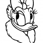 Daisy Duck coloringpages -