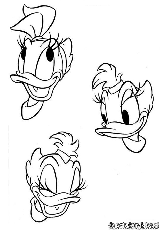 Daisyduck26 - Printable coloring pages