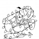 Donald Duck coloringpages -