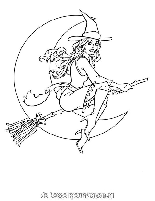 Halloween0005 Printable coloring pages