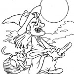 Halloween coloringpages -