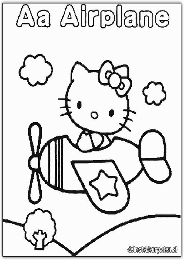 Free Coloring Pages Of Thanksgiving Hello Kitty
