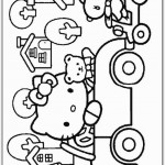 Hello Kitty coloringpages -