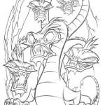 Hercules coloringpages -