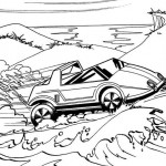 Hot Wheels coloringpages - Hotwheels1