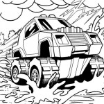 Hot Wheels coloringpages - Hotwheels10