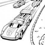 Hot Wheels coloringpages - Hotwheels14