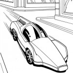 Hot Wheels coloringpages - Hotwheels18