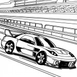 Hot Wheels coloringpages - Hotwheels21