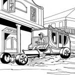 Hot Wheels coloringpages -