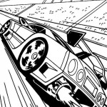 Hot Wheels coloringpages - Hotwheels25