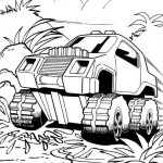 Hot Wheels coloringpages - Hotwheels27