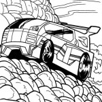 Hot Wheels coloringpages - Hotwheels29