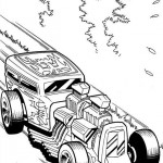 Hot Wheels coloringpages - Hotwheels39