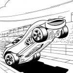 Hot Wheels coloringpages - Hotwheels6