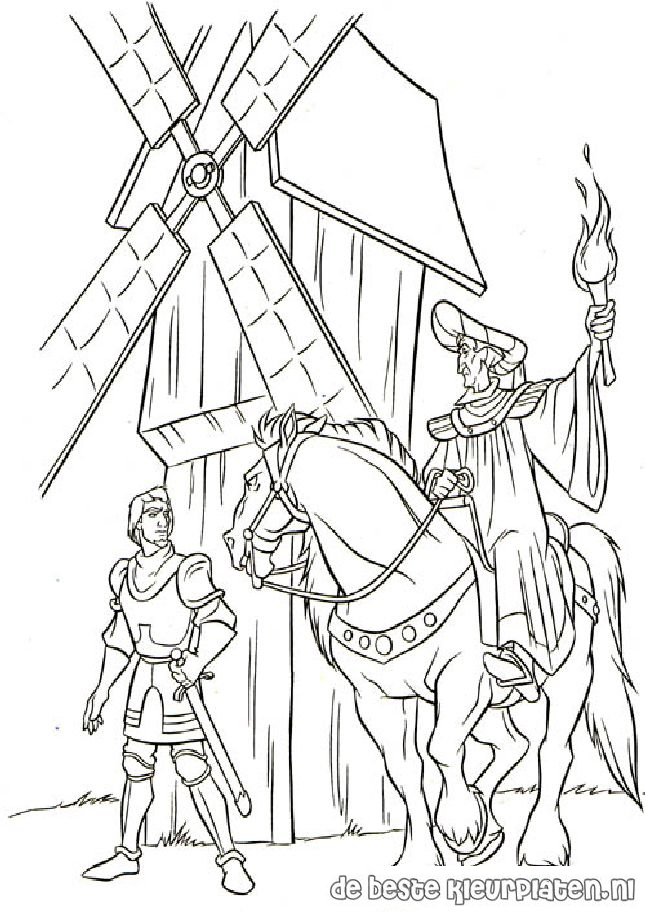 Hunchback016 Printable Coloring Pages