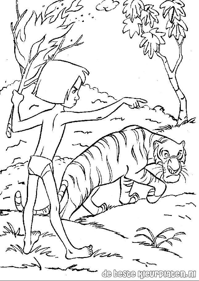 junglebook011 printable coloring pages