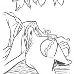 Lady and the Tramp coloring pages 7