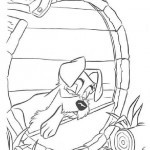 Lady and the Tramp coloring pages 6