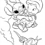 Lilo and Stitch coloringpages -