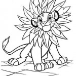 The Lion King coloringpages -