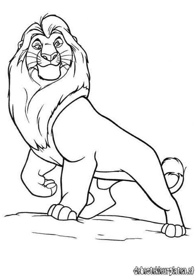 Lionking6 printable coloring pages for Lion king christmas coloring pages