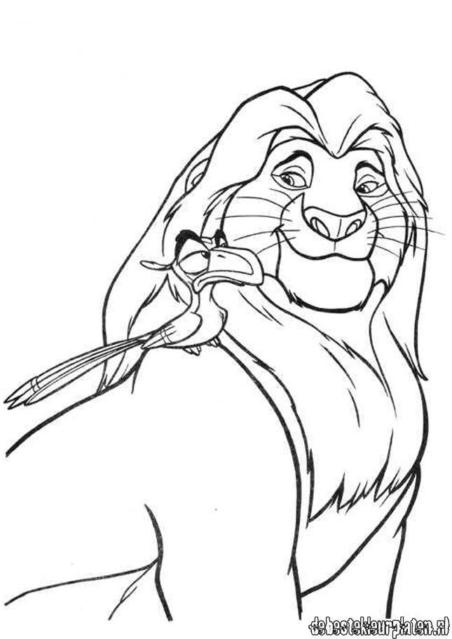 Lionking8 Printable Coloring Pages